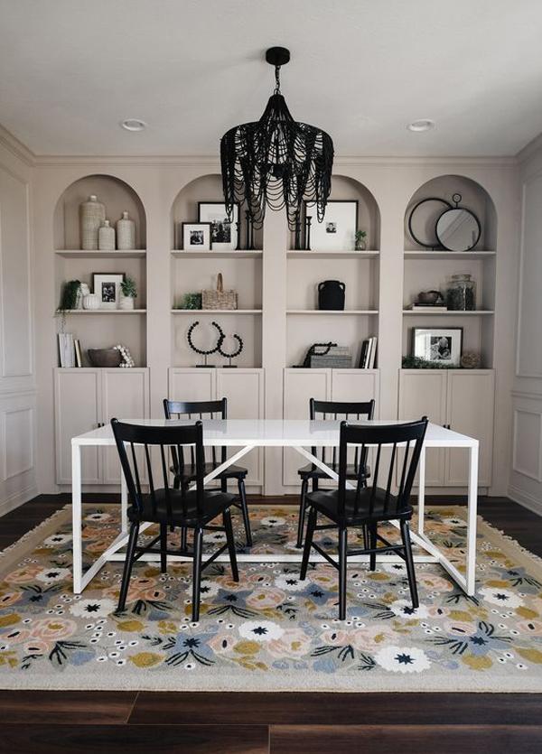 diy-billy-arched-bookshelves