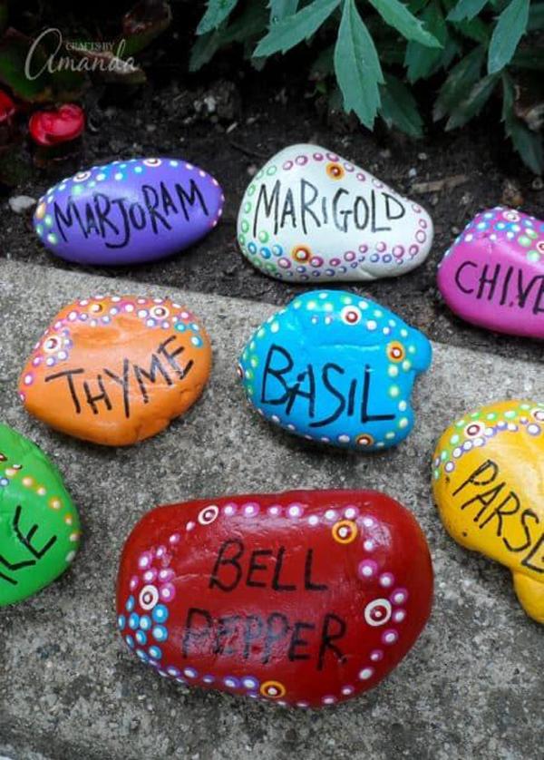 diy-painted-rock-garden-markers