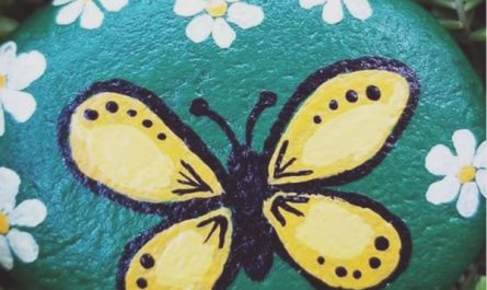 diy-painted-rock-gardens-for-kids