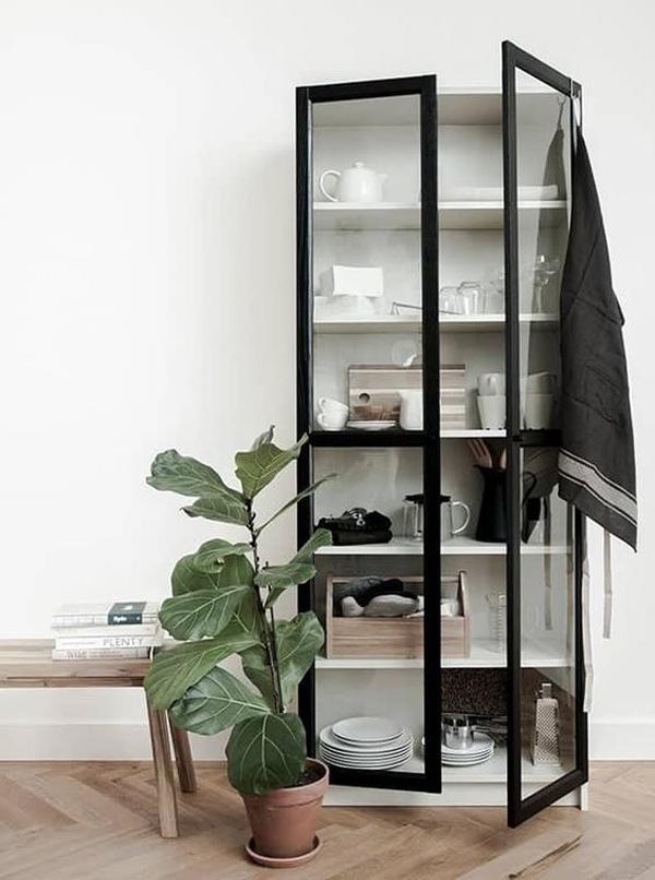 ikea-billy-glass-door-cabinet