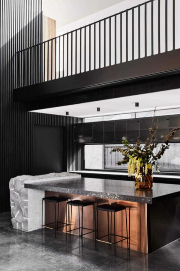 modern-black-kitchen-island