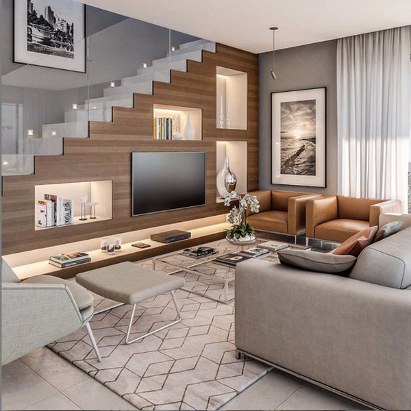 modern-under-stair-tv-wall-in-living-room