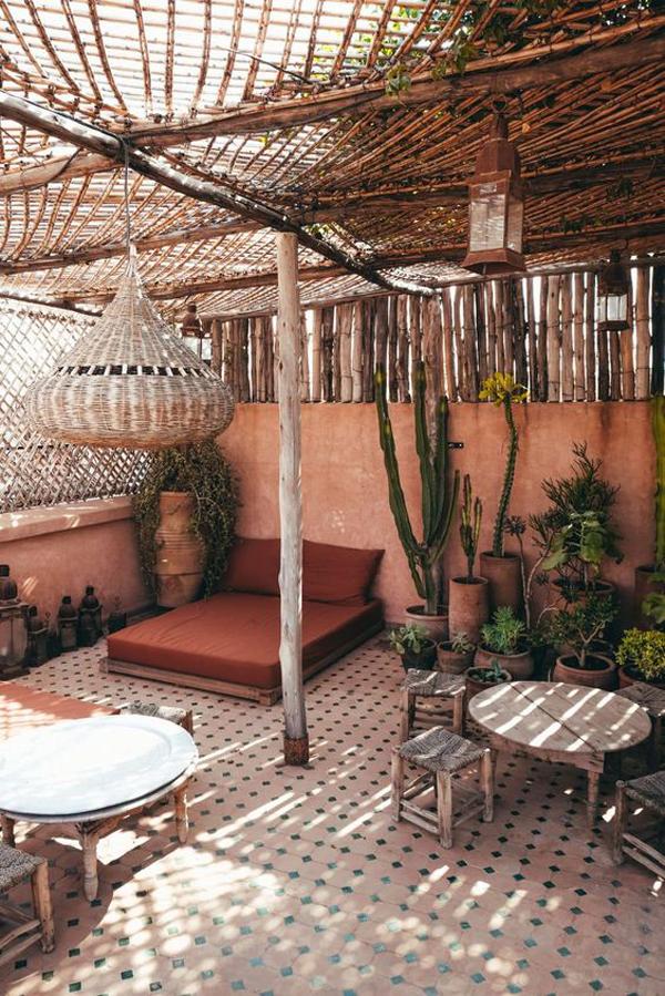 moroccan-bamboo-pergola-ideas