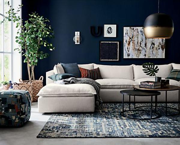 stylish-blue-living-room-decor