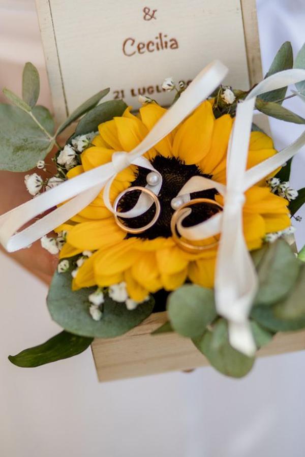 sunflower-ring-holder-ideas