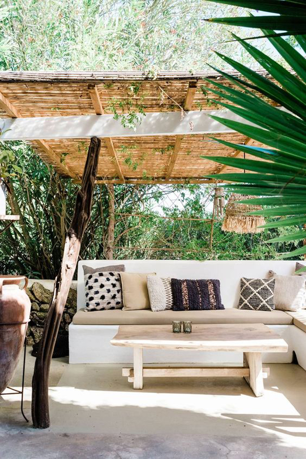 tropical-wood-pergolas-with-bamboo-roof