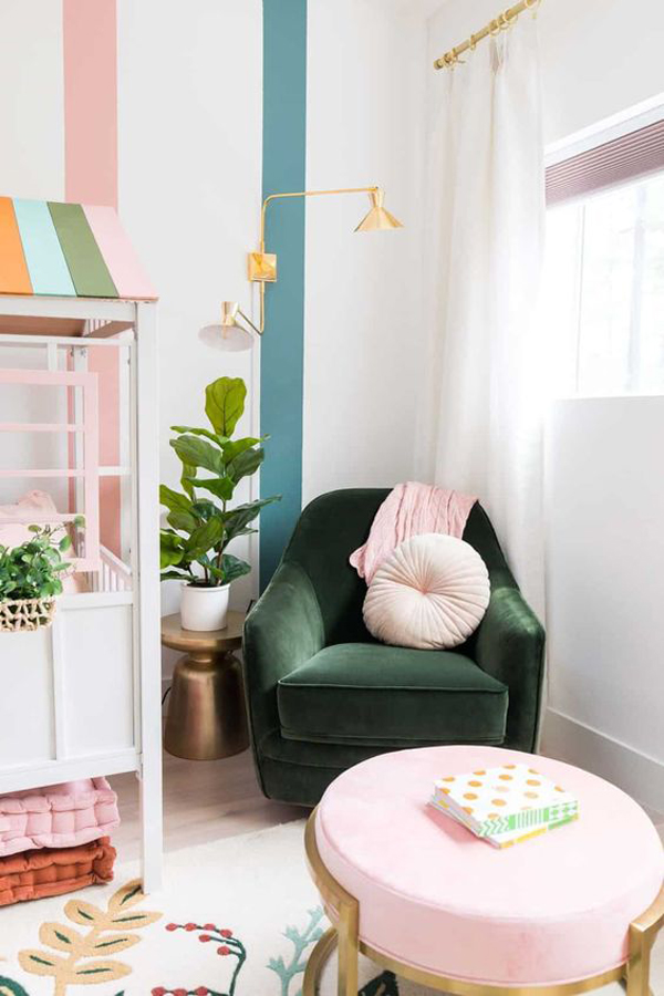 adorable-kids-reading-nook-with-play-house
