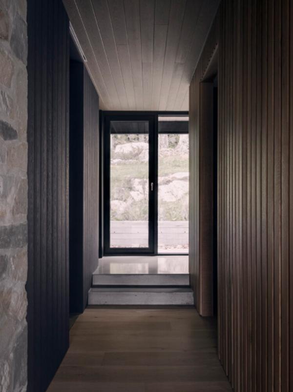 black-wood-entryway-and-front-door