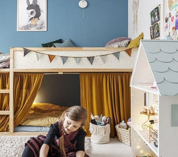 24 Cute Little Girls Bedroom Ideas With Play Space