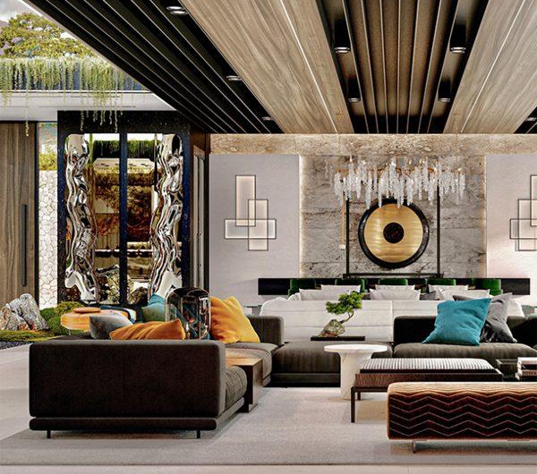 Garden Villa Design With Distinctive Japanese Flavour