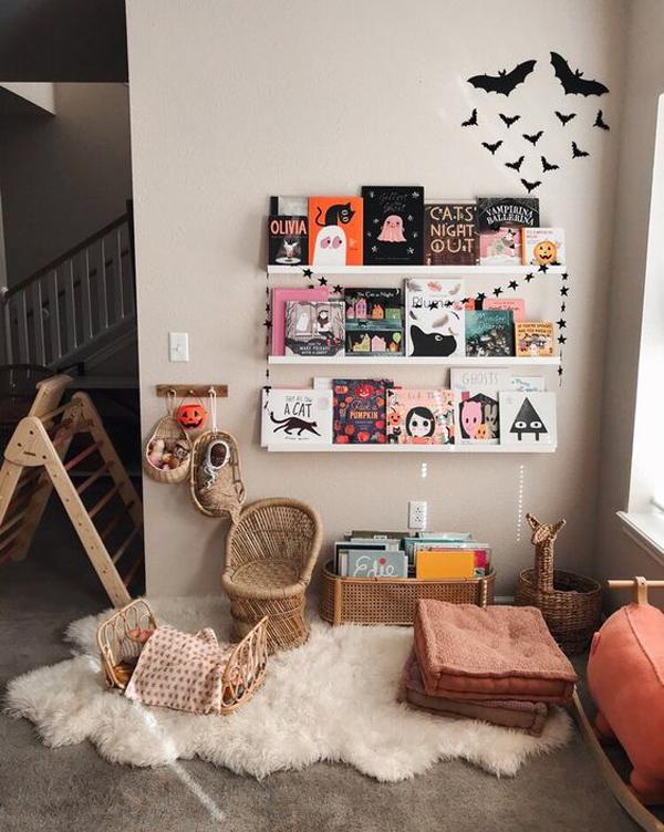 halloween-kids-reading-nook-ideas