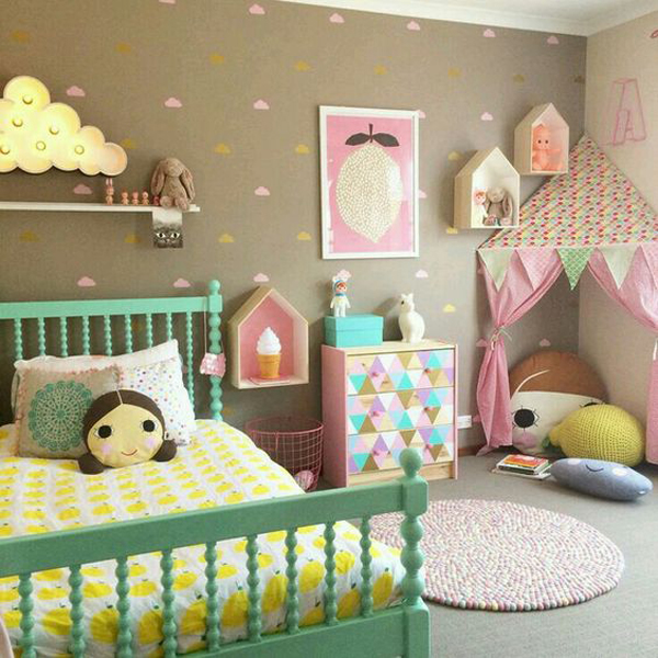 little-girl-bedroom-with-play-tents
