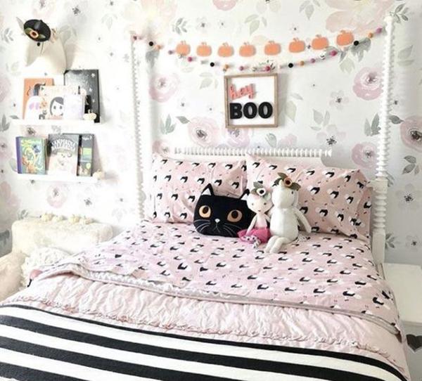 minimalist-kids-bedroom-with-bookcase-design