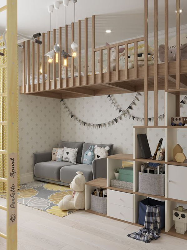 modern-chic-girl-room-with-play-space