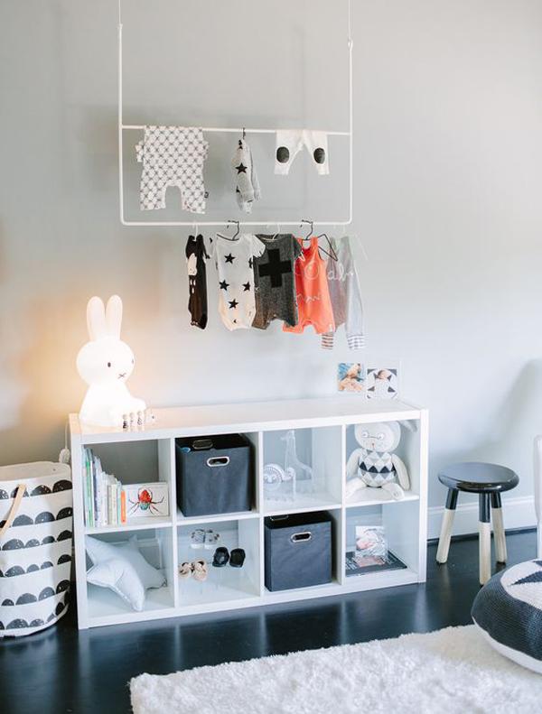 modern-ikea-kallax-storage-for-kids-closet