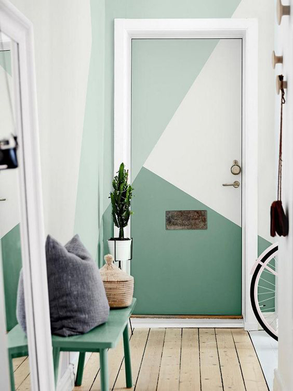 natural-green-door-color-blocking