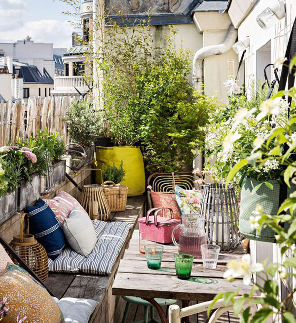12 Creative Ways Makeover Balconies For Picnic