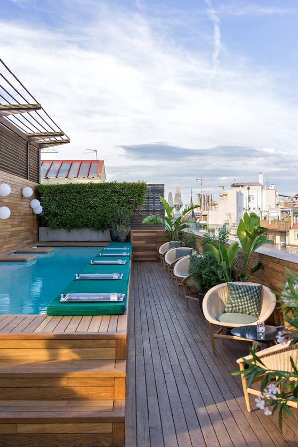 small-rooftop-pool-deck-with-seating-area