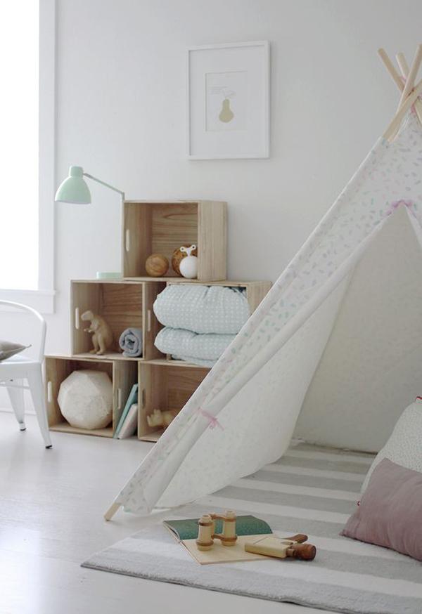 teepee-indoor-play-area-in-bedroom