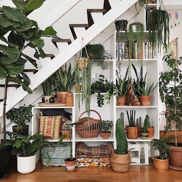 under-the-stairs-garden-decoration