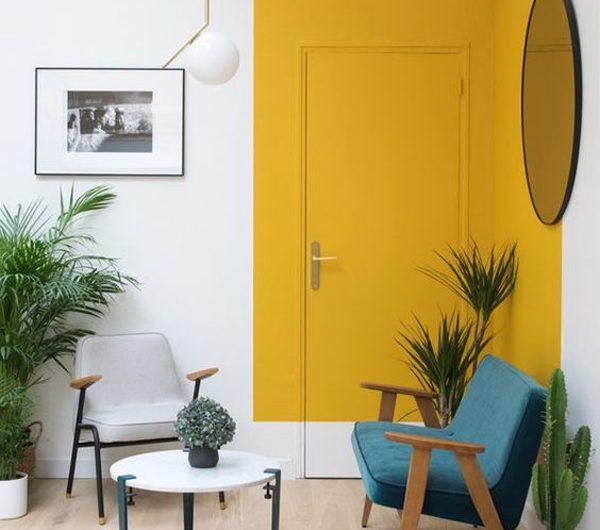 20 Aesthetic Door Design With Color Blocking