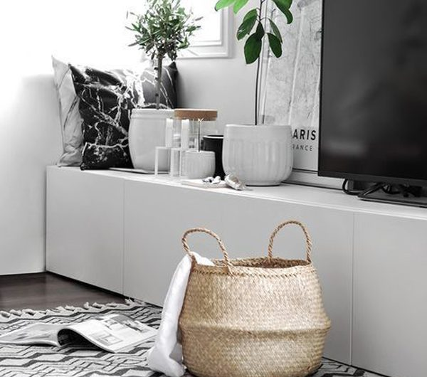 25 Modern IKEA Besta Hacks For TV Unit