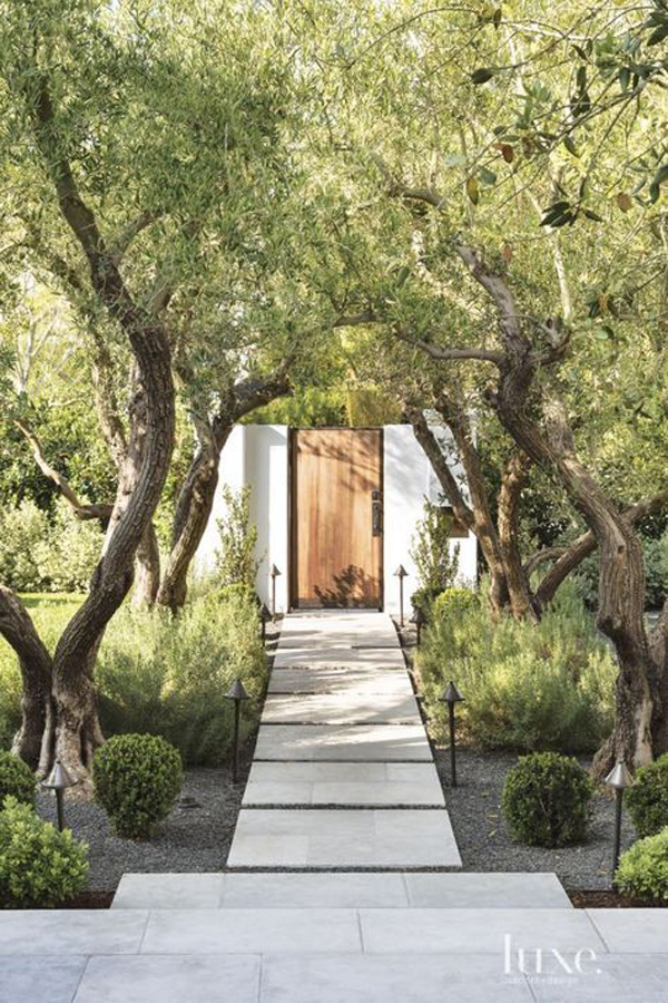 beautiful-entrance-design-with-forest-landscaping