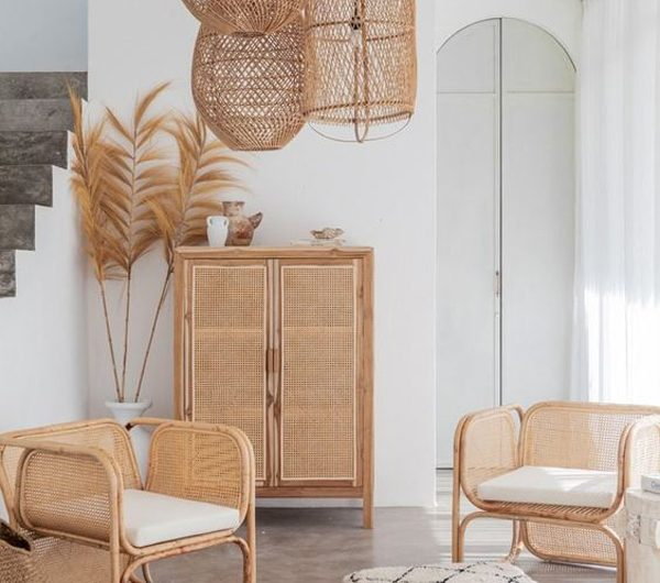 10 Antique And Stylish Decor With Rattan Furniture
