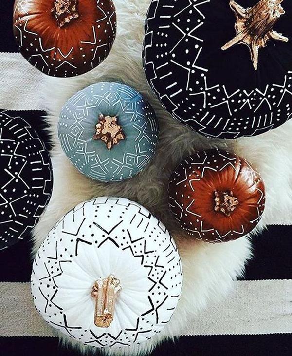 boho-pumpkin-decor-ideas