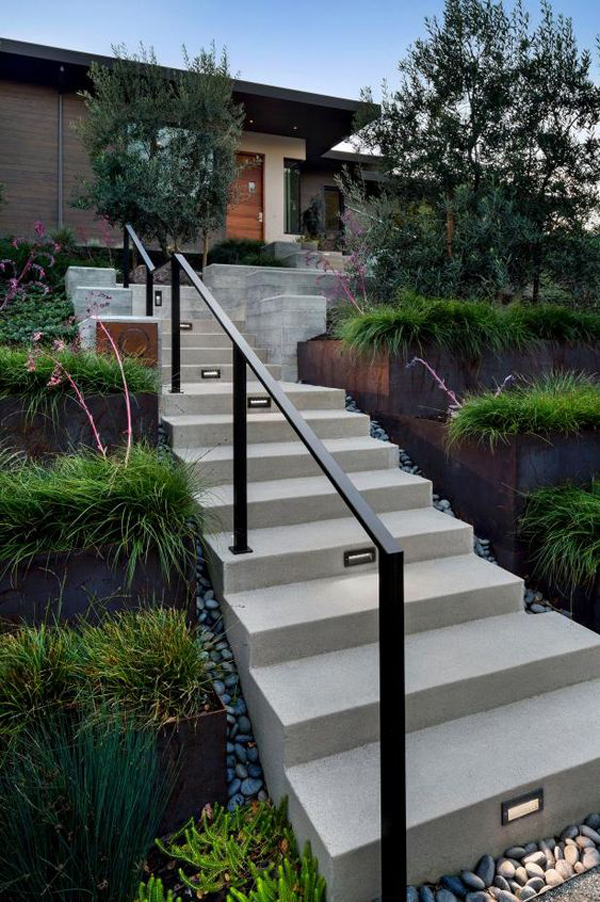 contempory-entrance-design-with-stairs