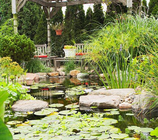 How To Make Relaxing Water Garden With Ponds