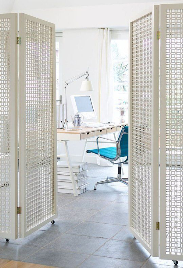 home-office-with-diy-white-folding-partitions