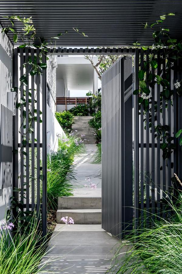 modern-grey-enrance-design-with-garden