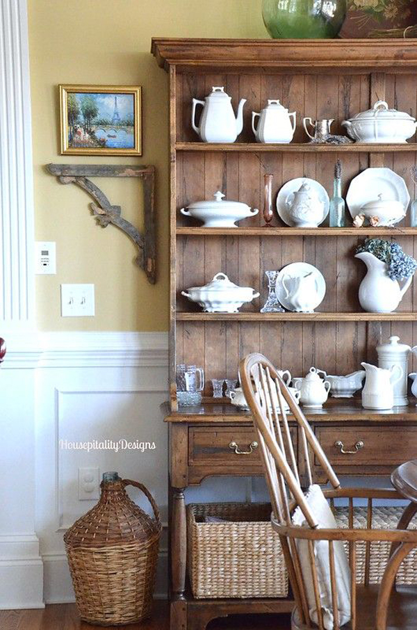 rustic-dining-room-cabinet-shelves