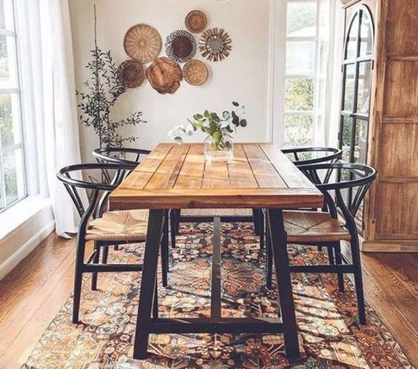 7 Beautiful Ways To Make Dining Room With Rustic Feel
